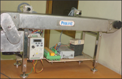 PLC Controlled Conveyer